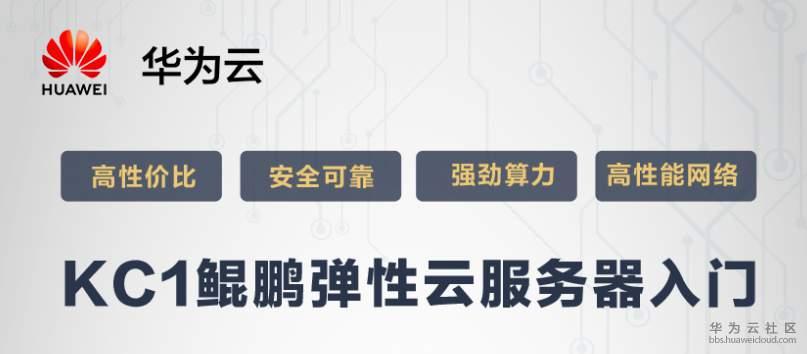 KC1鲲鹏弹性云服务器入门(下)