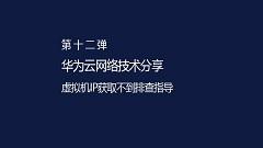 【华为云网络技术分享】【第十二弹】虚拟机IP获取不到排查指导