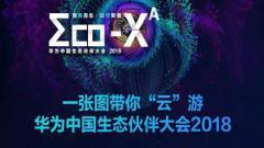 """一张图带你""""云""""游2018华为中国生态伙伴大会"""